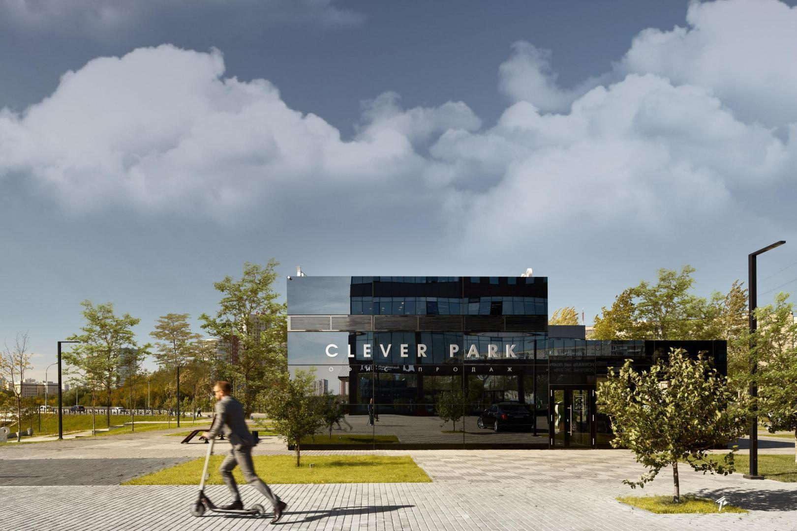 CLEVER PARK / Sales office